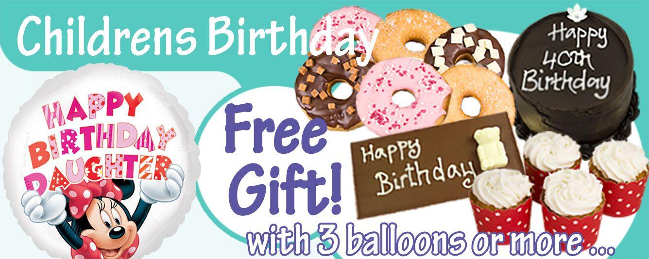 Childrens Birthday Balloons