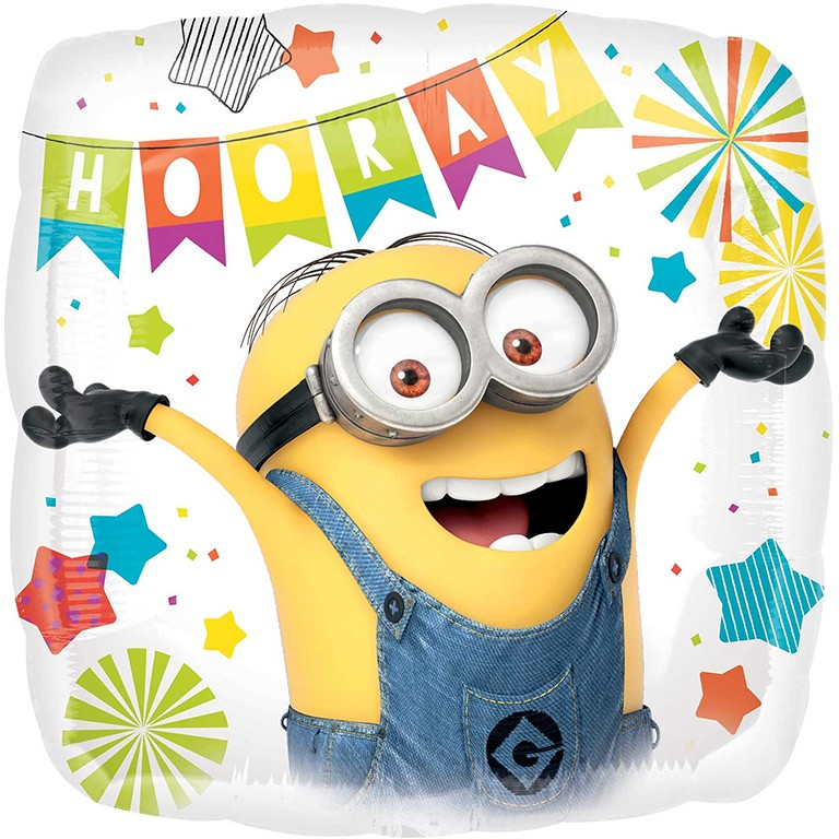 Despicable Me Minions Party Balloon Delivered Inflated In UK