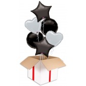 Black and Silver Party Bouquets