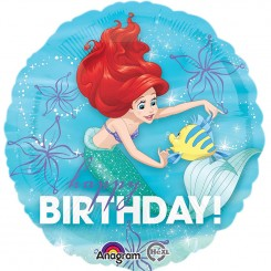 Disney Little Mermaid Birthday Balloon