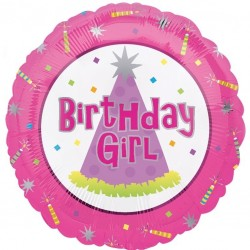 Birthday Girl Balloon