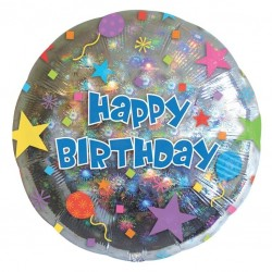 Happy Birthday Confetti Balloon