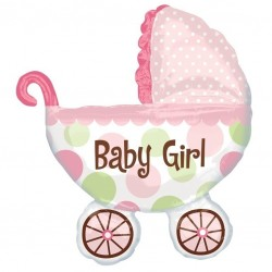 Large Baby Buggy Balloon
