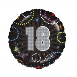 A Time to Party 18th Balloon