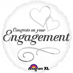 Congrats on your Engagement Balloon