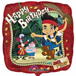 Jake and the Never Land Pirates Birthday Balloon