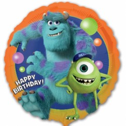 Monsters University Birthday Balloon