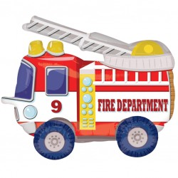 Fire Truck Balloon Buddy Airwalker Balloon