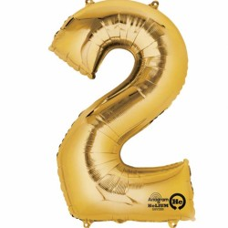 Large Gold Shape Balloon No 2