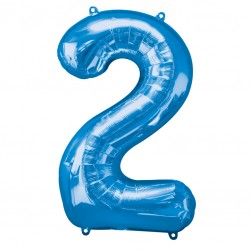 Large Blue Shape Balloon No 2