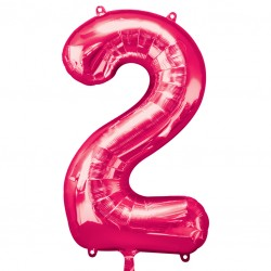 Large Pink Shape Balloon No 2