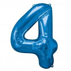 Large Blue Shape Balloon No 4