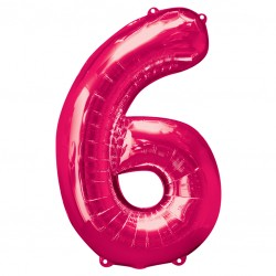 Large Pink Shape Balloon No 6