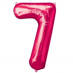 Large Pink Shape Balloon No 7