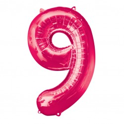 Large Pink Shape Balloon No 9