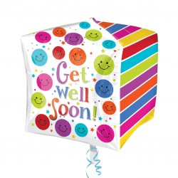 Cubez Get Well Soon Balloon
