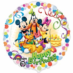 Mickey and Friends Birthday Balloon