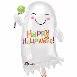 Candy Ghost Halloween Balloon