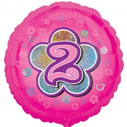 Pink Flowers 2nd Balloon