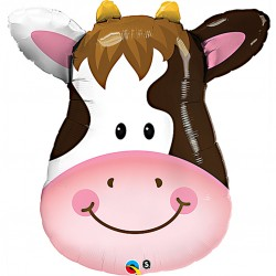Contented Cow Supershape Balloon