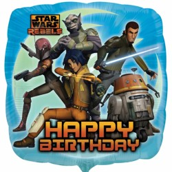 Star Wars Rebels Happy Birthday Balloon