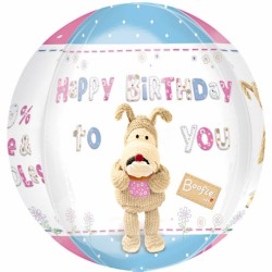 Orbz Boofle Happy Birthday Balloon