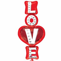 Love Letters Supershape Balloon