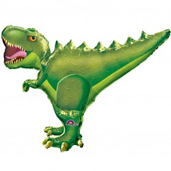 T Rex Dinosaur Supershape Balloon