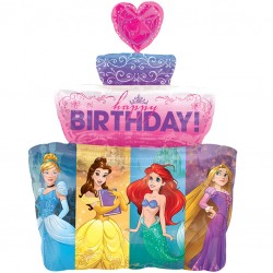 Disney Princess Cake SuperShape Balloon