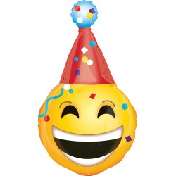 Emoji Birthday Supershape Balloon