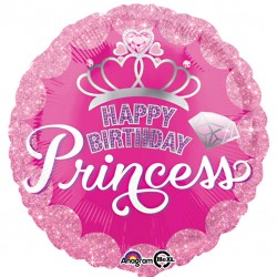 Tiara Happy Birthday Princess Balloon