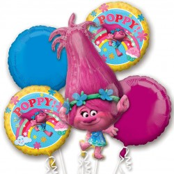 Trolls Poppy Balloon Bouquet