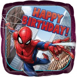 Spiderman Birthday Balloon