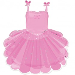 Ballerina Tutu Supershape Balloon
