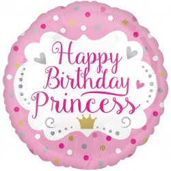 Happy Birthday Princess Balloon