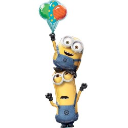 Despicable Me Minions Giant Cluster Balloon