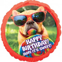 Jumbo Sweet Dog Birthday Balloon