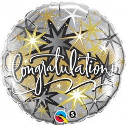 Congratulations Star Design Balloon