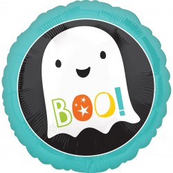 Boo! Ghost Halloween Balloon