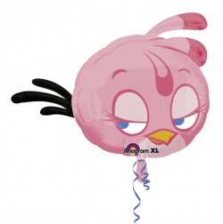 Large Angry Birds Pink Balloons