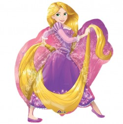 Rapunzel Supershape Balloon