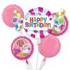 Candy Birthday Balloon Bouquet