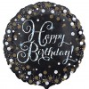 Sparkling Happy Birthday Balloon