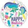 Mermaid and Friends Birthday Balloon