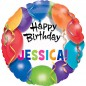 Personalised Happy Birthday Balloon