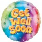 Rainbow Get Well Balloon