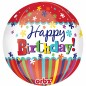 Orbz Happy Birthday Balloon