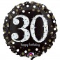 Sparkling 30th Birthday Balloon