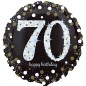 Sparkling 70th Birthday Balloon