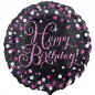 Celebration Pink Happy Birthday Balloon